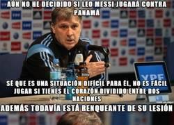 Enlace a Partido complicado el que le espera a Messi contra Panamá
