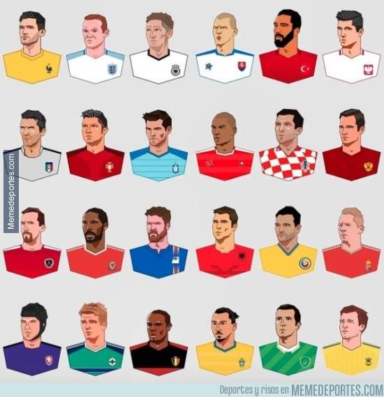 869819 - Los capitanes de la Eurocopa 2016