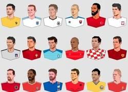 Enlace a Los capitanes de la Eurocopa 2016