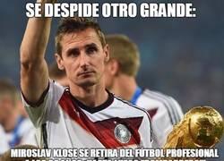 Enlace a Se despide otro grande, Miroslav Klose