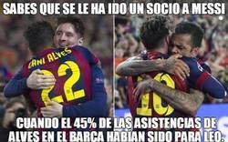 Enlace a Sabes que se le ha ido un socio a Messi