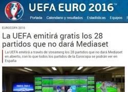 Enlace a ¡¡¡Partidos de la Eurocopa gratis!!!