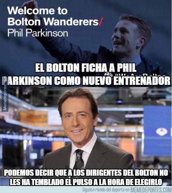 870445 -  El nuevo entrenador del Bolton