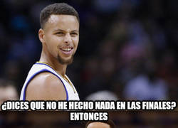 Enlace a Stephen Curry callando bocas