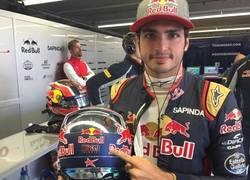 Enlace a Sainz llevará a Salom en el casco en el próximo GP #Respect