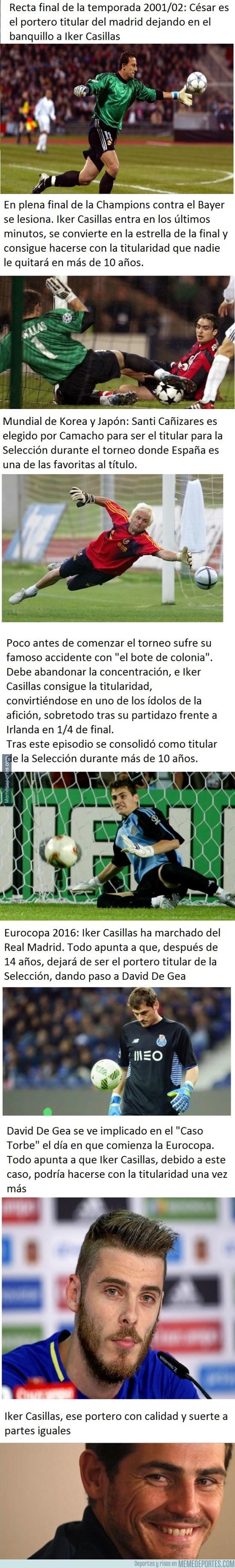 871184 - Casillas, un tipo con suerte