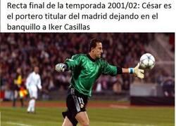 Enlace a Casillas, un tipo con suerte