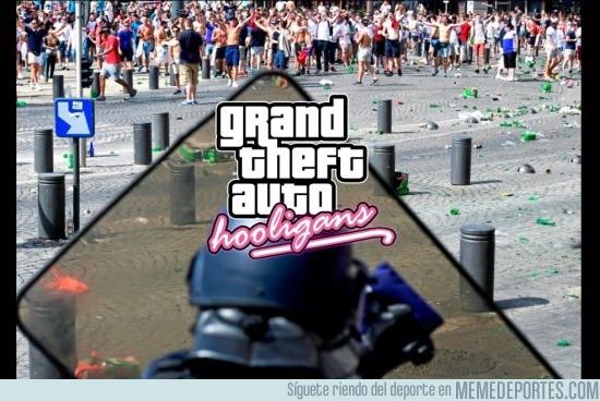 871899 - GTA Hooligans, el nuevo juego de la Eurocopa
