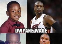 Enlace a Algunas de las estrellas de la NBA... ¡Cuando eran niños!