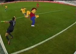 Enlace a ¡El gol de Perú a Brasil es válido!