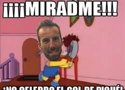 Enlace a Resumen de la reacción de Álvaro Ojeda con el gol de Piqué