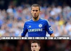 Enlace a Hazard cree que puede tirar de Bélgica... como no ha hecho con el Chelsea