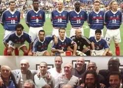 Enlace a Los campeones mundiales del 98. Leyendas