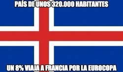 Enlace a Todo Islandia se vuelca con la Euro