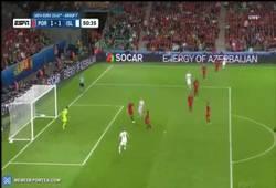 Enlace a El primer gol de Islandia en una Euro. ¡Histórico!