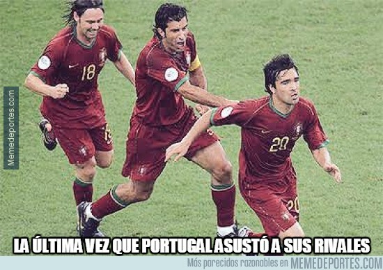 873803 - La última vez que Portugal asustó a sus rivales