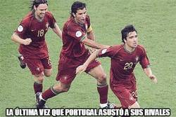 Enlace a La última vez que Portugal asustó a sus rivales