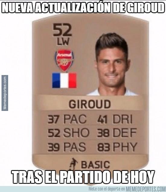 874412 - EA Sports actualiza la carta de Giroud