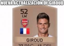 Enlace a EA Sports actualiza la carta de Giroud