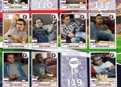 Enlace a Mientras tanto, ya han salido los cromos de la selección holandesa para la Eurocopa