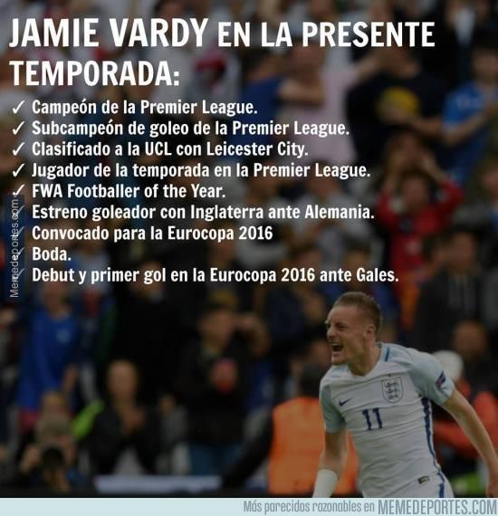 874873 - NI SANTIAGO MUÑEZ. Los increíbles capítulos de la vida de película del inglés Jamie Vardy