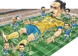 Enlace a Ésta fue la táctica de Italia contra Suecia