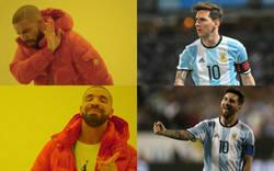 Enlace a Messi con barba en Argentina es otra cosa