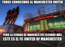 Enlace a FC United of Manchester, un club poco conocido pero con el mejor propósito, llegar a los fanáticos