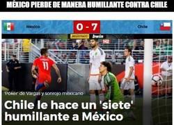 Enlace a México pierde de manera humillante contra Chile