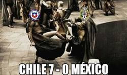 Enlace a Paliza de Chile a México