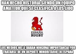 Enlace a La selección de rugby 7 española a los JJOO