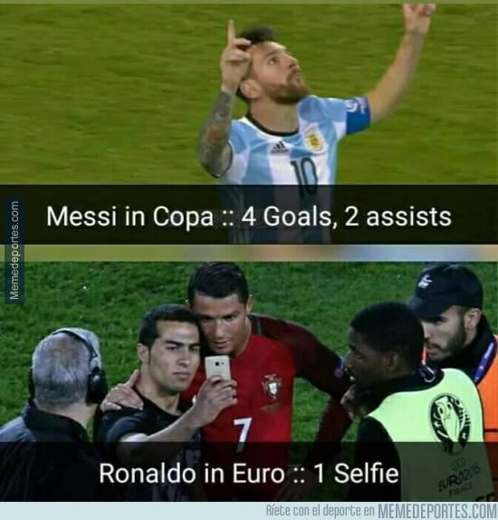877577 - Messi vs Cristiano en Copa América/Euro