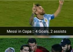 Enlace a Messi vs Cristiano en Copa América/Euro
