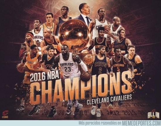 877598 - Los Cavaliers se hacen con el anillo