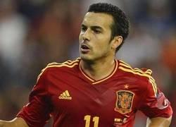 Enlace a Duras declaraciones de Pedro al no jugar en la Eurocopa