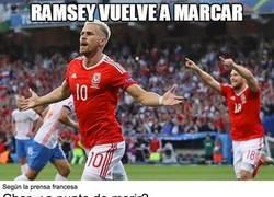 Enlace a Ramsey marcó ayer y peligra mucho el estado de Cher