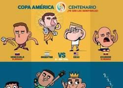 Enlace a ¡Semifinales de la Copa América Centenario!
