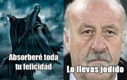 Enlace a Ni los dementores de Harry Potter pueden con Vicente
