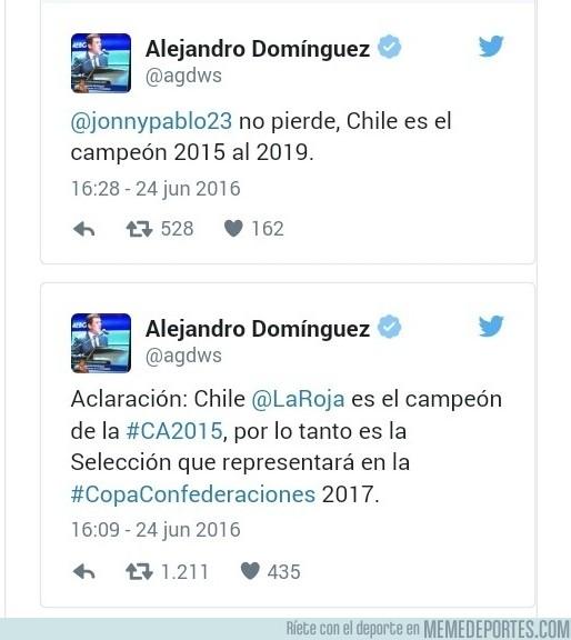 880077 - Presidente de la Conmebol aclaró quién será el campeón de la Copa América hasta 2019