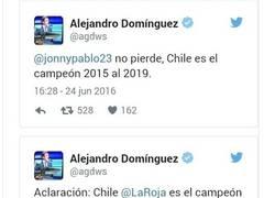 Enlace a Presidente de la Conmebol aclaró quién será el campeón de la Copa América hasta 2019