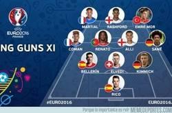 Enlace a Los 10 jugadores más jóvenes de la Eurocopa 2016