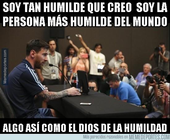 880550 - El Dios de la humildad juega esta noche la final de la Copa América