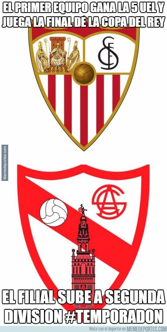 880667 - El temporadón del Sevilla