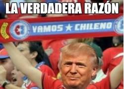 Enlace a La verdadera razón por la que Trump va con Chile