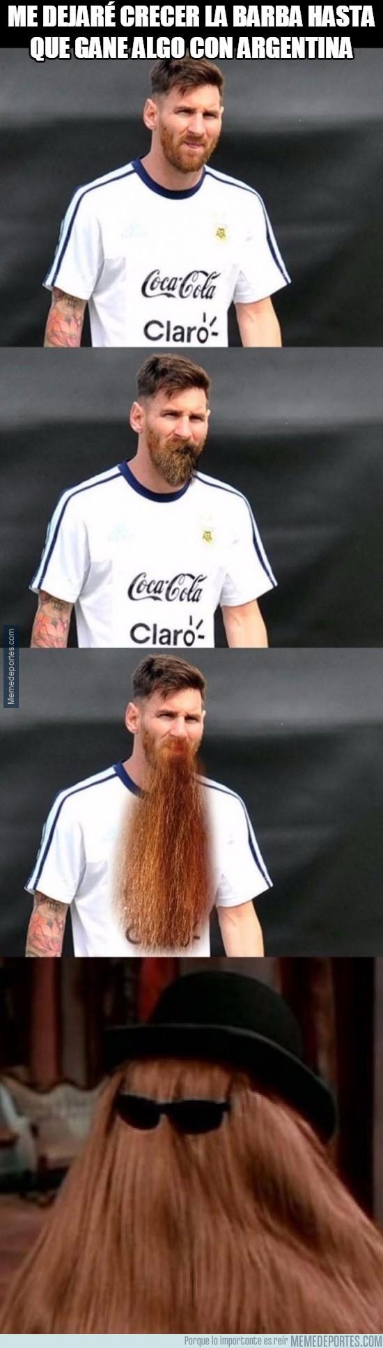 881374 - Messi y su barba