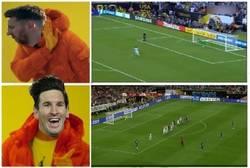Enlace a Lo de Messi son los goles difíciles, pero los fáciles...