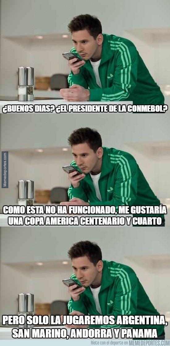 881966 - Estas son las instrucciones de Messi para la próxima Copa América