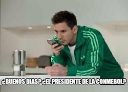 Enlace a Estas son las instrucciones de Messi para la próxima Copa América
