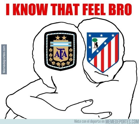 881991 - Argentina y Atlético de Madrid, parecidos razonables
