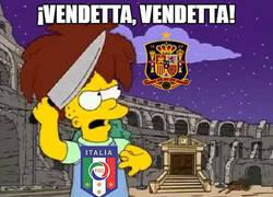 Enlace a Italia quiere vendetta y van a muerte